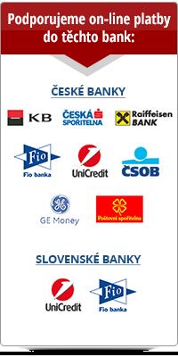 podporované banky