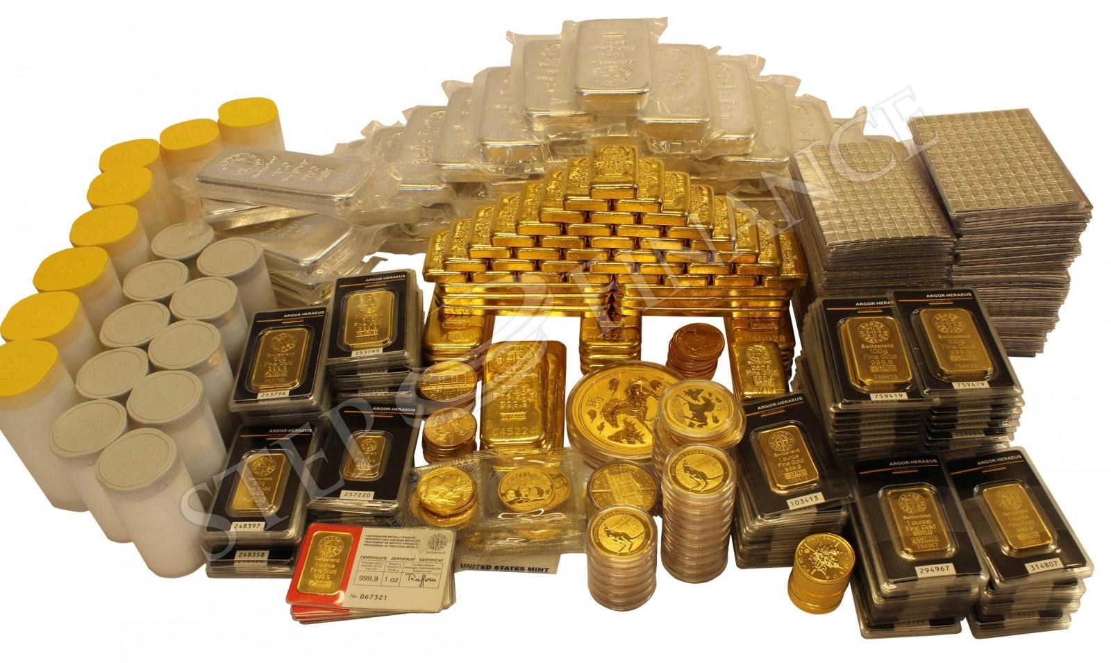 Náš sklad investičního zlata