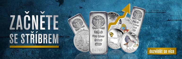 Začněte investovat do stříbra
