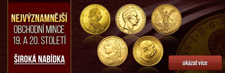 Zlaté obchodní mince