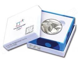 Korea 2016 Pyeong Chang 2018 Winter Olympic Silver Coin - Alpine Skiing (4)