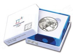 Korea 2016 Pyeong Chang 2018 Winter Olympic Silver Coin - Curling (4)
