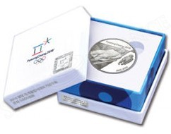Korea 2016 Pyeong Chang 2018 Winter Olympic Silver Coin - Luge (4)