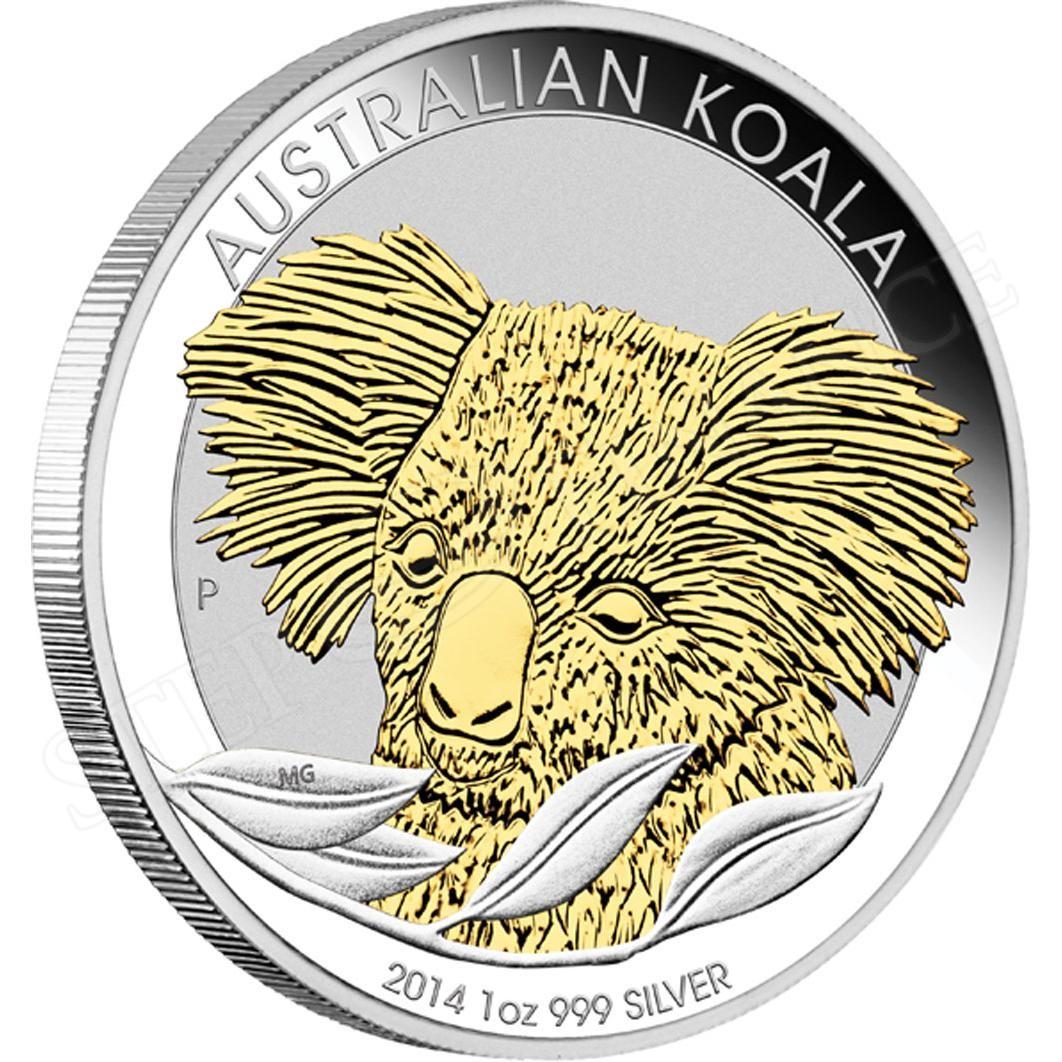 Koala 2014 1 Oz Ag Zlacen 225 Investičn 237 Zlato Skladem