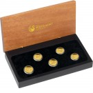 Discover Australia 2011 - sada 5 zlatých mincí 1/25 Oz