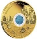 Poklady Světa - Amerika/Tyrkys 2015 Proof 1/1 Oz Au 100 AUD