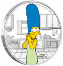 Stříbrná mince Simpsonovi - Marge 1 oz proof 2019