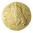 Ludvík XIV: 2014 Proof 1 Oz Au 200 Eur