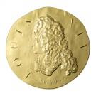 Ludvík XIV. 2014 Proof 1/4 Oz Au 50 Eur