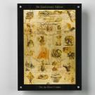 Da Vinciho kodex - sada 24 stříbrných mincí