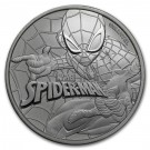 Stříbrná mince Marvel - Spiderman 1 oz BU 2017