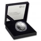 Stříbrná mince The Queen's Beasts Black Bull 1 oz proof 2018