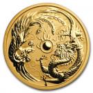 Zlatá mince Drak a Fénix 1 oz BU 2018