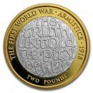 První světová válka, Příměří 1918, Ag Proof Piedfort