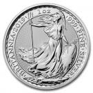 Stříbrná mince Britannia 1 oz 2019