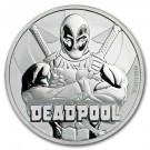 Stříbrná mince Deadpool 1 oz BU 2018