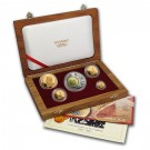 Krugerrand-sada 5 mincí Proof 1,85 Oz Au 2002