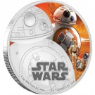 Star Wars: The Force Awakens - BB-8™ Proof 1 Oz Ag