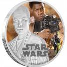 Star Wars: The Force Awakens - Finn™Proof 1 Oz Ag