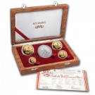 Krugerrand-sada 5 mincí Proof 1,85 Oz Au 2006-Otto Schultz