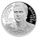 Stříbrná mince Legendy čs. hokeje Vladimír Růžička 29 g proof 2019