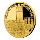 Zlatá mince Vznik královského hlavního města Praha - Staré Město pražské 1/4 oz proof 2019