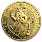 The Queen's Beasts 2016 – The Lion - 1 Oz Au