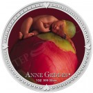 Anne Geddes-dřímající dívka 1 Oz Ag Proof