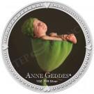 Anne Geddes-dřímající chlapec 1 Oz Ag Proof