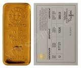 Argor-Heraeus 1000 gramů Au