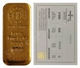 Argor-Heraeus 500 gramů Au