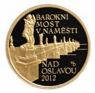 Barokní most v Náměšti Proof 1/2 Oz Au