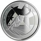 Stříbrná mince Gepard 1 oz BU 2019