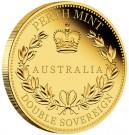 Australský Double Sovereign 2018 Au