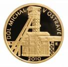 Památka důl Michal v Ostravě Proof 1/4 Oz Au