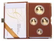 American Eagle, exkluzivní sada zlatých mincí Proof Au