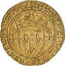 "Zlatá mince""Charles VII 1 Écu d´Or"""