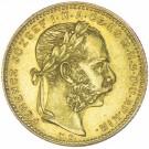 8 Forint František Josef I. 1881 KB
