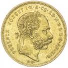 8 Forint František Josef I. 1873 KB