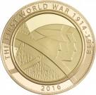 Armáda - 1/2uncová zlatá mince