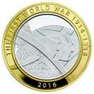 Armáda - stříbrná mince Piedfort