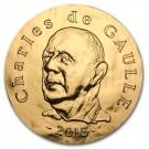 Charles de Gaulle  2015 Proof 1 Oz Au 200 Eur