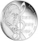 Velcí Skladatelé - Robert Schumann 1 Oz Ag Proof