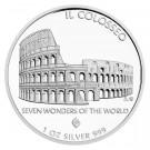 Sedm divů světa - Il Colosseo 2015 1 Oz Ag proof