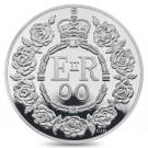 Královna Alžběta II. - 90. výročí narození 2016 Proof Ag
