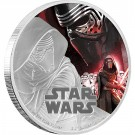 Star Wars: The Force Awakens - Kylo Ren™ Proof 1 Oz Ag