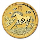 Lunar-Rok Koně 2014 BU 1kg Au