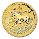 Lunar-Rok Koně 2014 BU 1/1 Oz Au