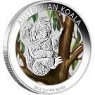 Koala 2013 1 Oz Ag - barvená