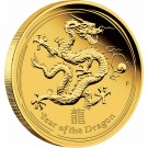 Rok Draka 2012 Proof 1/4 Oz Au 25 AUD